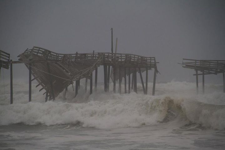 Hurricane irene for Surf city pier fishing report