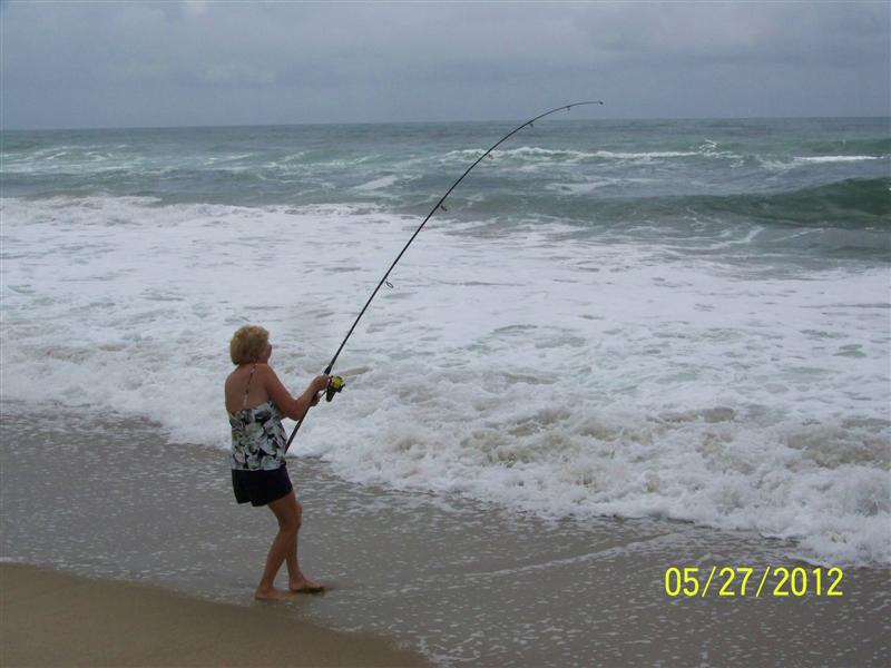 Big bluefish photos for Cape hatteras fishing report