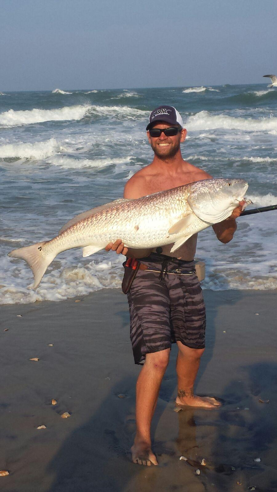 Hatteras island fishing report for Nc surf fishing report