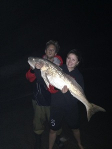 Meagan McElwain red drum