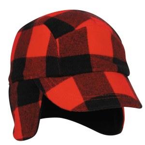 outdoor cap flannel
