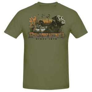 Browning dog youth short sleeve tee