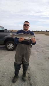 Chris Hey 22 in speckled trout