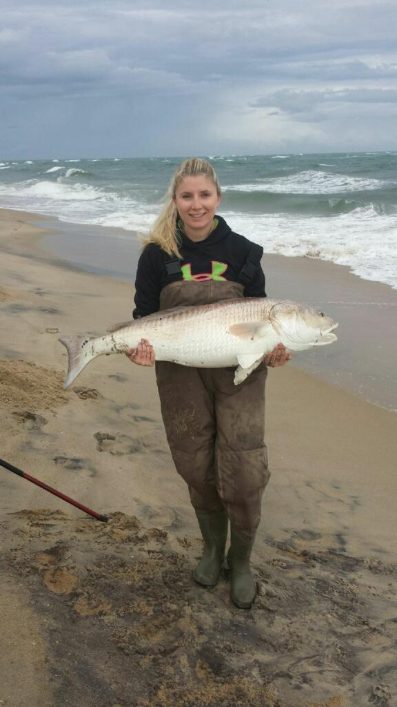 Big red drum at cape point page 3 for Cape hatteras fishing report