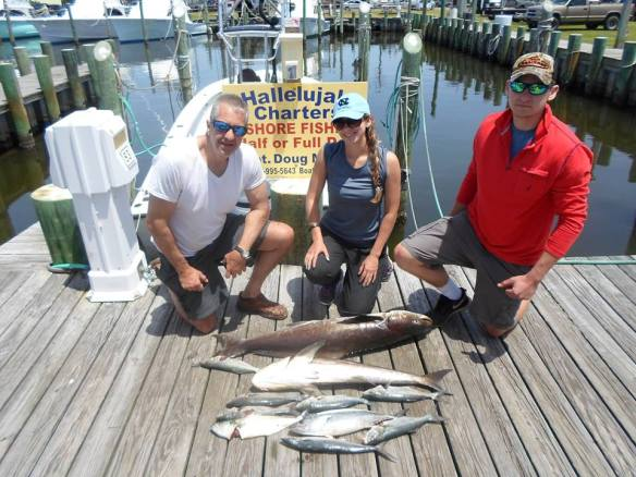 Halleluja Charters cobia, blues and spanish