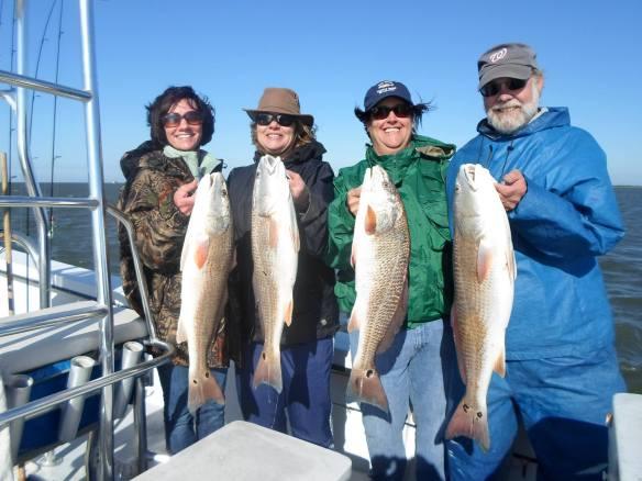 Hallelujah Charters red fish