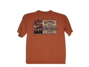 FRISCO ROD AND GUN RED DRUM T