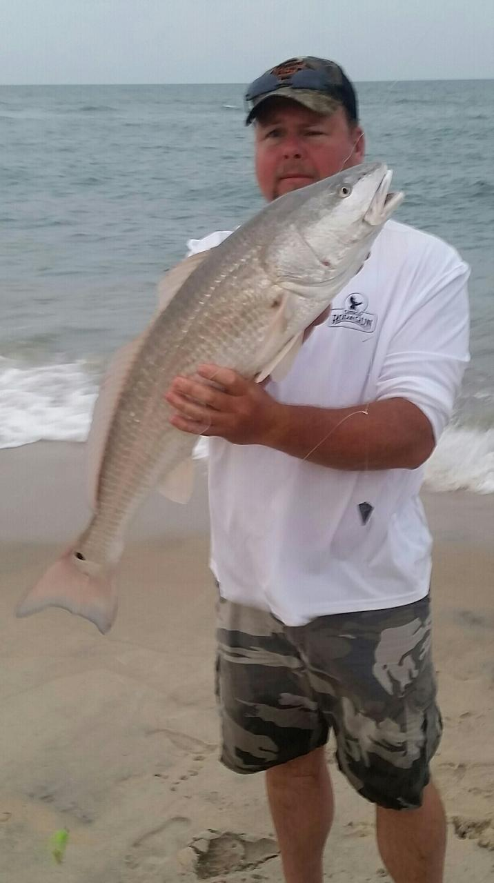 red drum fishing hatteras nc campgrounds
