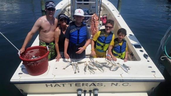 Hatteras Fishing Adventure mix