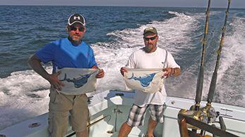 Tuna Duck Sportfishing sailfish releases