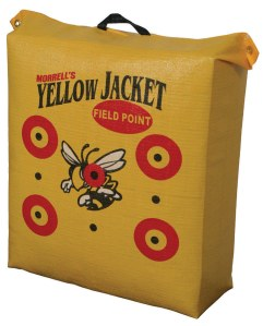 Morrell's yellow jacket field point target