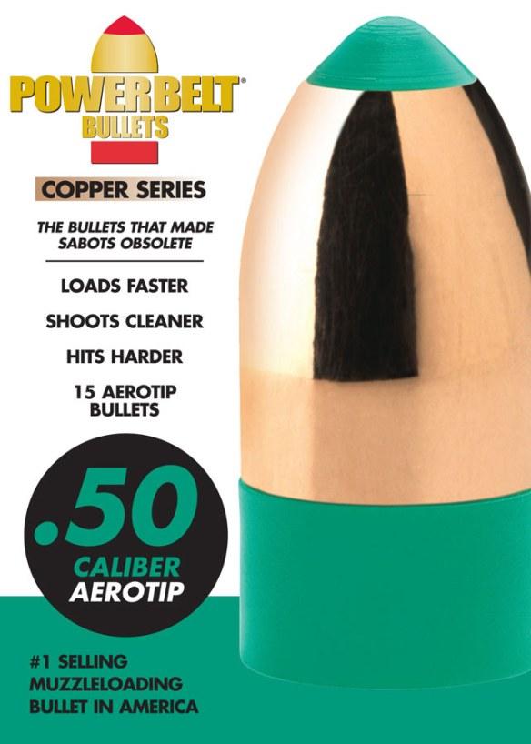Powerbelt Bullets .50 caliber