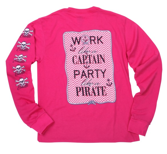 Calcutta Ladies Pirate Shirt