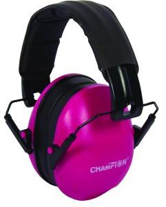 champion ear muffs pink