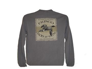 Frisco Rod and Gun Baywood Pintail Long Sleeve Tee