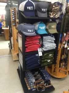 yeti hats and t shirts