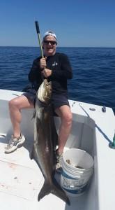 Bak Bar Sportfishing 73lb cobia