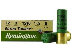 remington nitro turkey shot