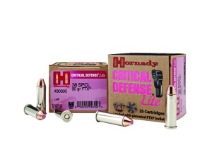 Hornady CRITICAL DEFENSE LITE AMMO