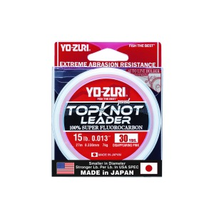 yozuri top knot fluro-carbon
