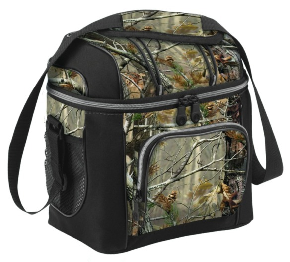 coleman soft side cooler camo