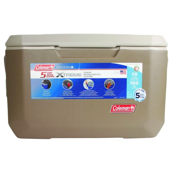 coleman xtreame tan cooler