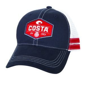 costa reel trucker hat