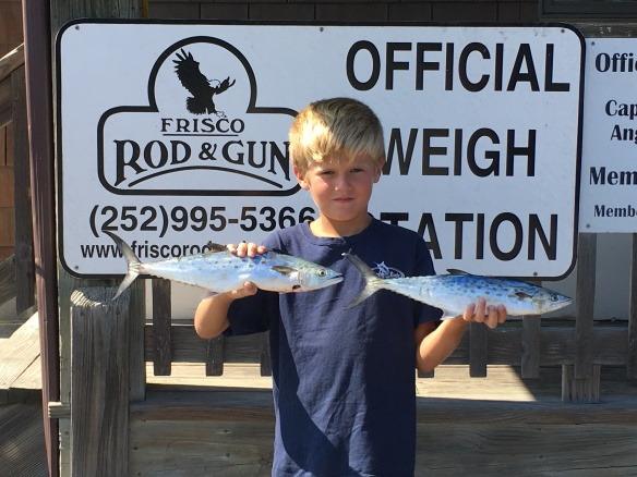Spanish mackerel hatteras inlet