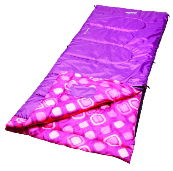 coleman pink sleeping bag