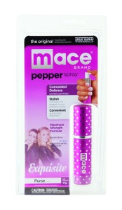 mace pepper spray pink