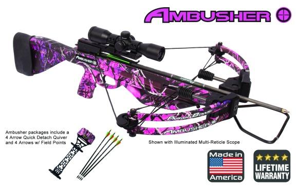 parker ambusher crossbow