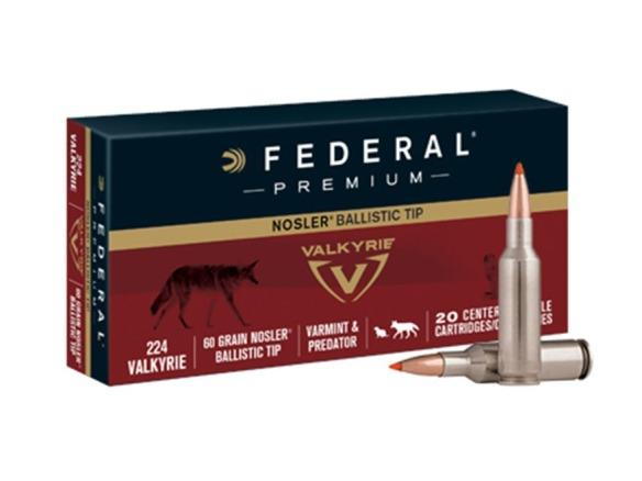federal 224 valkyrie 60gr