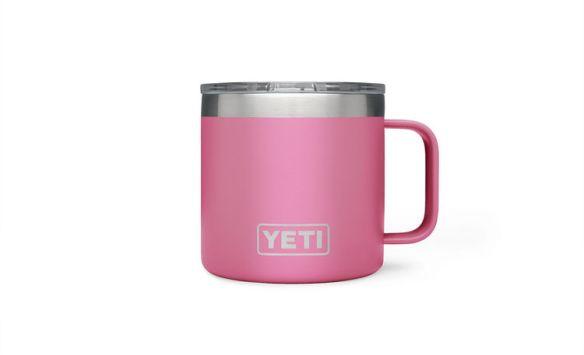 yeti harbor pink mug